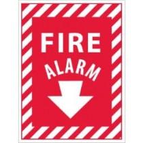 Fire Alarm Sign (arrow) (#FAPSE)
