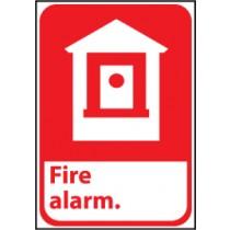 Fire Alarm Sign (#FGA2)