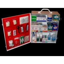 First Aid Cabinet, 3-shelf, filled (#712MTMF)
