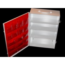 First Aid Cabinet, 4-shelf, empty (#701MTM)