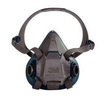 3M™ Rugged Comfort Half Facepiece Reusable Respirator, Medium (#6502)