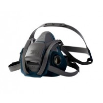 3M™ Rugged Comfort Quick Latch Half Facepiece Reusable Respirator , Medium (#6502QL)