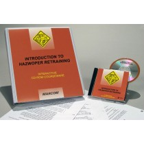 HAZWOPER: Introduction to HAZWOPER Retraining Interactive CD (#C0001850ED)
