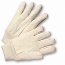 100% Cotton 10oz. Canvas Gloves (#K01I)