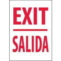Exit Spanish Sign (#M353)