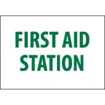 First Aid Station Sign (#M442)