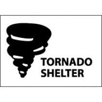 Tornado Shelter Sign (#M450)