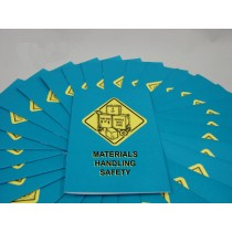 Materials Handling Safety Booklet (#B000MHS0EM)