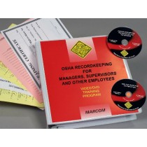OSHA Recordkeeping for Managers, Supervisors, and Employees DVD Program (#V0003029EO)