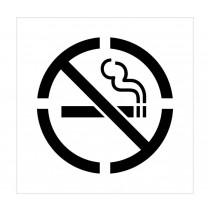 No Smoking Stencil (#PMS207)