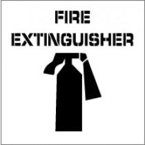 Fire Extinguisher Stencil (#PMS210)