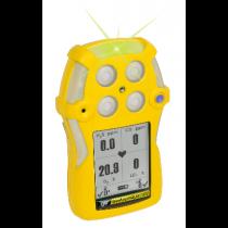 GasAlertQuattro Gas Detector, Rechargeable Version (4 Gas) (#QT-XWHM-R-Y-NA)