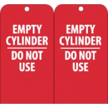 Empty Cylinder Do Not Use Tag (#RPT35)