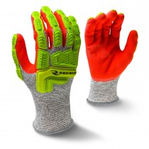 Cut Protection Sandy Foam Nitrile Coated Glove (#RWG603)
