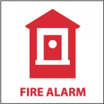 Fire Alarm Sign (#S42)