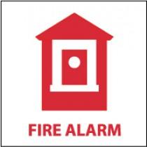 Fire Alarm Sign (#S42)