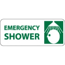 Emergency Shower Pictorial Sign (#SA116)