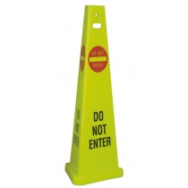 Do Not Enter TriVu Safety Cone (#TFS304)
