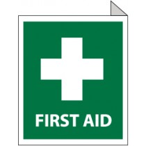 First Aid Sign (#TV1)