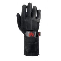 PRO Full-Finger Anti-Vibration Gloves with Wrist Strap (#V435-WS)