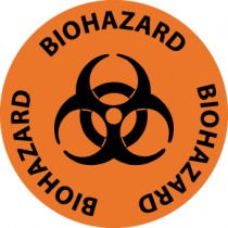 Biohazard Walk On Floor Sign (#WFS2)