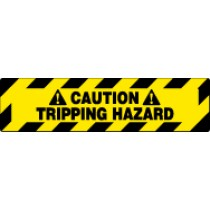 Caution Tripping Hazzard Walk On Floor Sign (#WFS628)