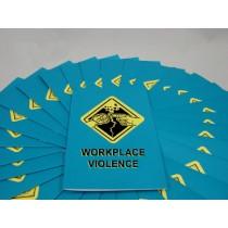 Workplace Violence Booklet (#B000VIL0EM)
