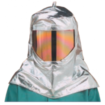 19oz. Aluminized Rayon Heavy Wide View Hood (#WV-647-ARH)