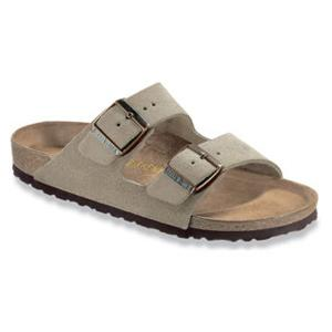 Birkenstock - Arizona - Taupe Suede- Soft Footbed