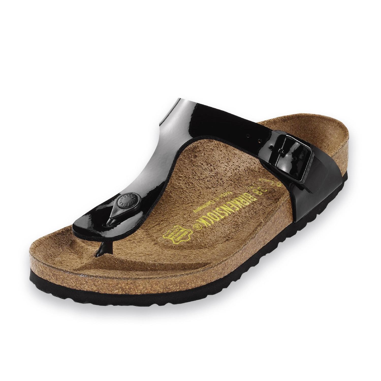 Birkenstock Shoes - Gizeh - Black Patent