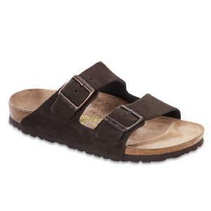 Birkenstock - Arizona - Mocha Suede - Soft Footbed