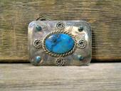 EBB1 Estate Navajo Handmade Belt Buckle