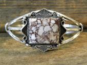 B3- Crazy Horse Navajo Handmade Bracelet