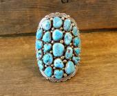 PB6 Pawn Navajo Handmade Sleeping Beauty Bracelet