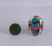 Bisbee Turquoise Ring 5