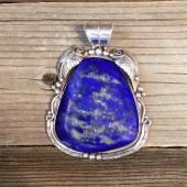 AP18 Monroe & Lillie Ashley Lapis Pendant