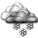 Partly Cloudy with Slight Chance of Light Snow Showers