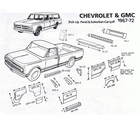 1968 chrysler convertible wiring diagram with 1962 70 1968 1971 Ford Fairlane Ford Torino Sheet Metal on Roblox Sound Ids likewise Internal Leaf Structure Diagram besides Chevrolet P30 Motorhome furthermore 1962 70 1968 1971 Ford Fairlane Ford Torino Sheet Metal in addition Buick Rendezvous Fuse Box.