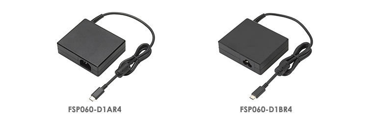 FSP FSP060-D1AR4 and FSP060-D1BR4 Ultra Slim Adapters