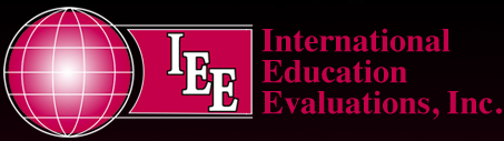 International Education Evaluations, Inc.