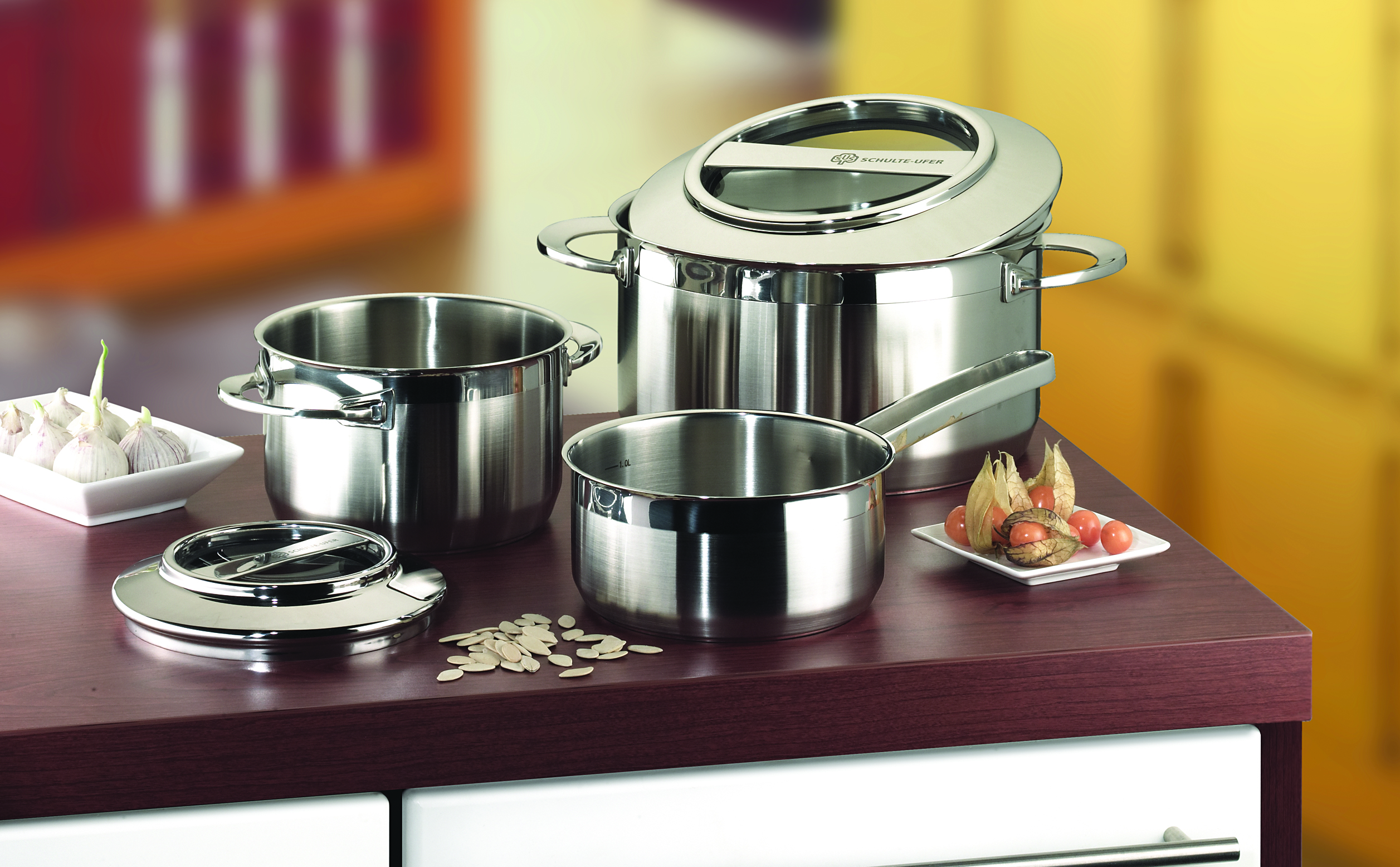 Schulte-Ufer Stainless Steel Pot Sets - North York ON