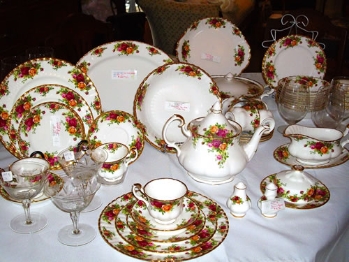 Vintage Bone China Set in North York ON