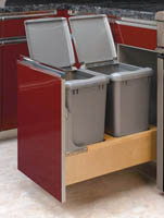 Waste Container Pullout