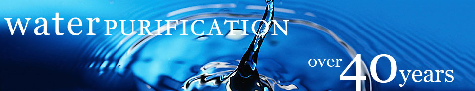 over 40 years water purification experience