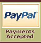 PayPal accepted for Power Scooters Lift Chairs Power Wheelchairs Rollators Diapers Diagnostic Products and Medical Supplies