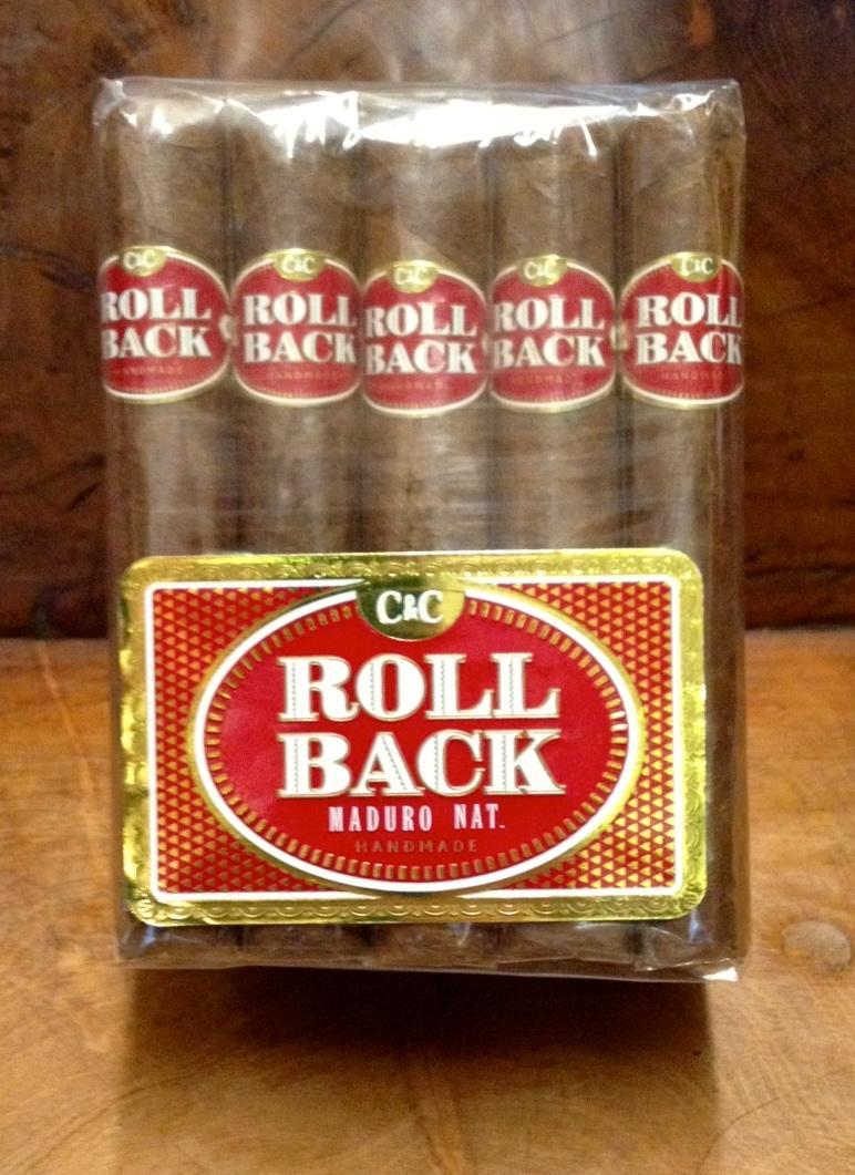 Roll Back Robusto Maduro