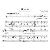 """""""Grateful"""" [An anthem of giving thanks] in F –  Baritone (""""Grateful, The Songs of John Bucchino"""" CD key)"""
