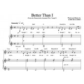 """""""Better Than I"""" [Soaring anthem of faith] in F – Baritone or High Soprano"""