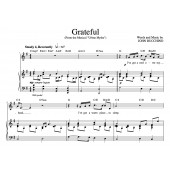 """""""Grateful"""" [An anthem of giving thanks] in G"""