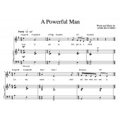 """""""A Powerful Man"""" [Up-tempo comedy] in G"""